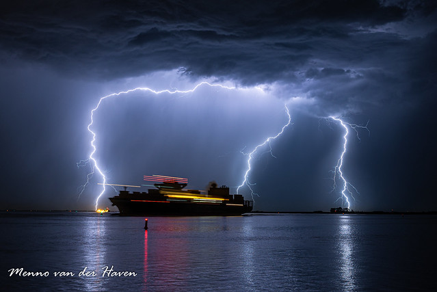 Ship with Lightning