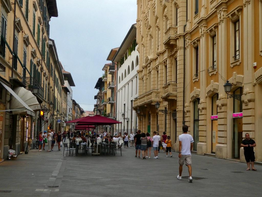 Via Corso Italia Pisa