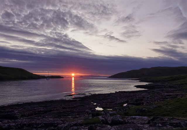 A Wider View Tulm Bay Sunset
