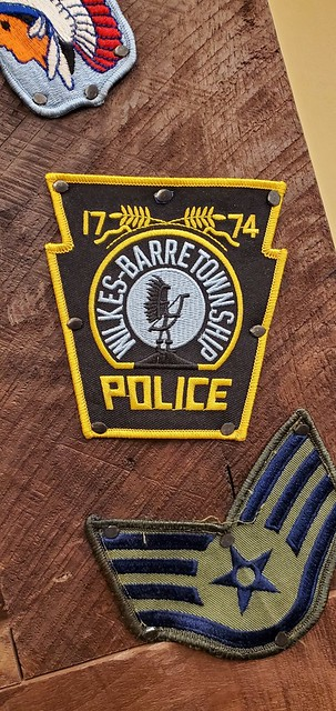 Wilkes-Barre Township Police Patch