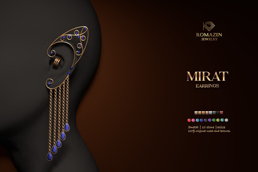 Romazin – Earrings <Mirat> – Anybody