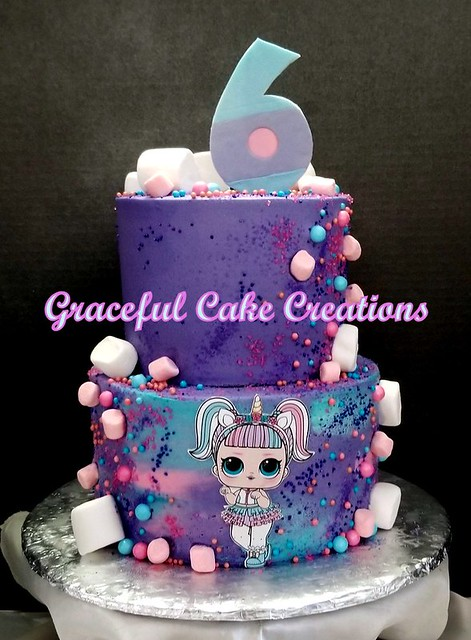 LOL Dolls Birthday Cake