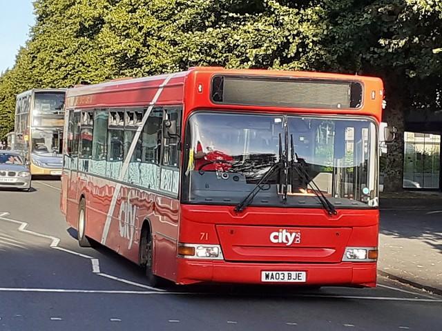 Plymouth Citybus WA03BJE (71)
