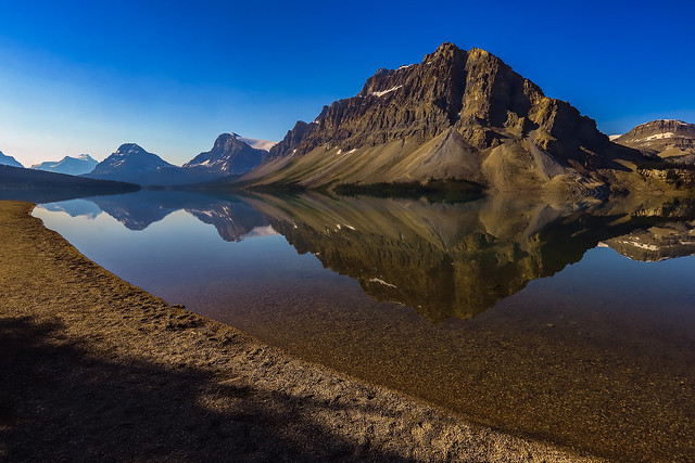 Bow lake on the curve 2