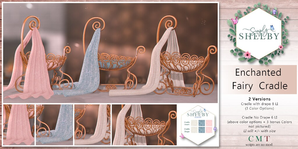 Simply Shelby Enchanted Fairy Cradle