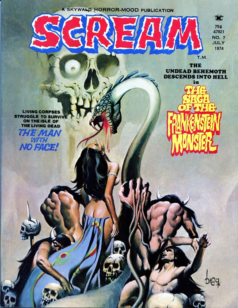 Scream Magazine, Issue 07, July 1974