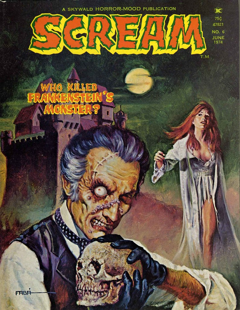 Scream Magazine, Issue 06, June 1974