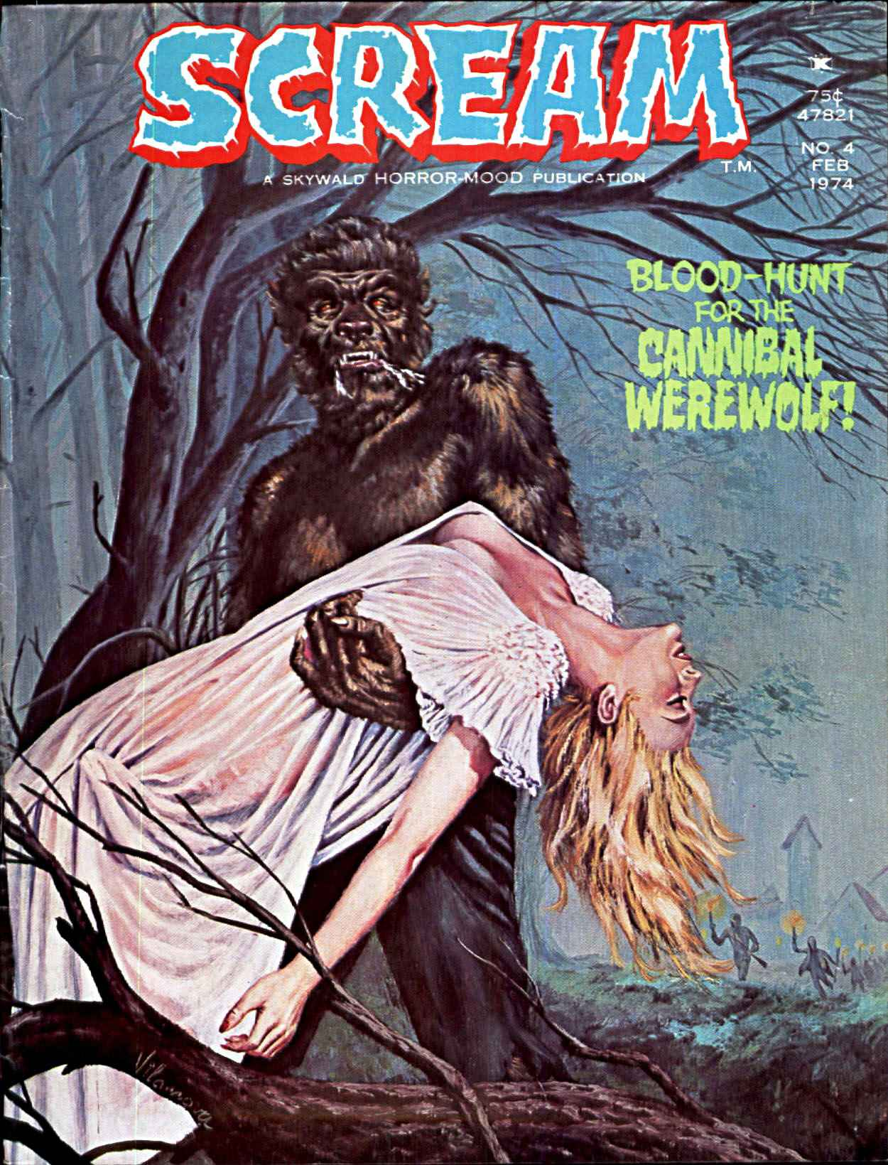 Scream Magazine, Issue 04, February 1974