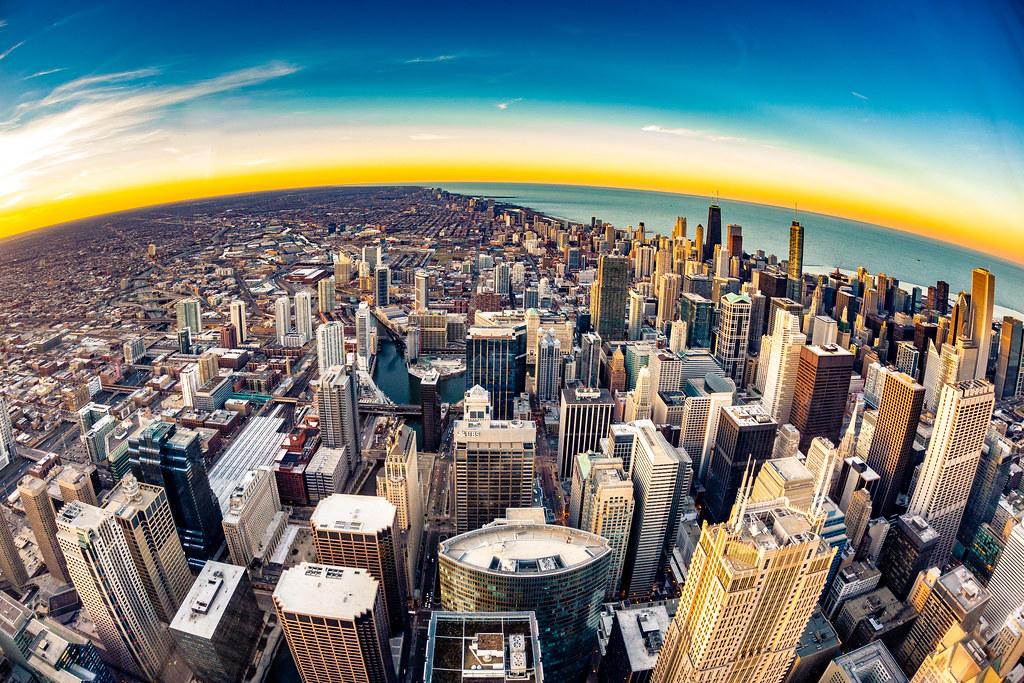Chicago fisheye