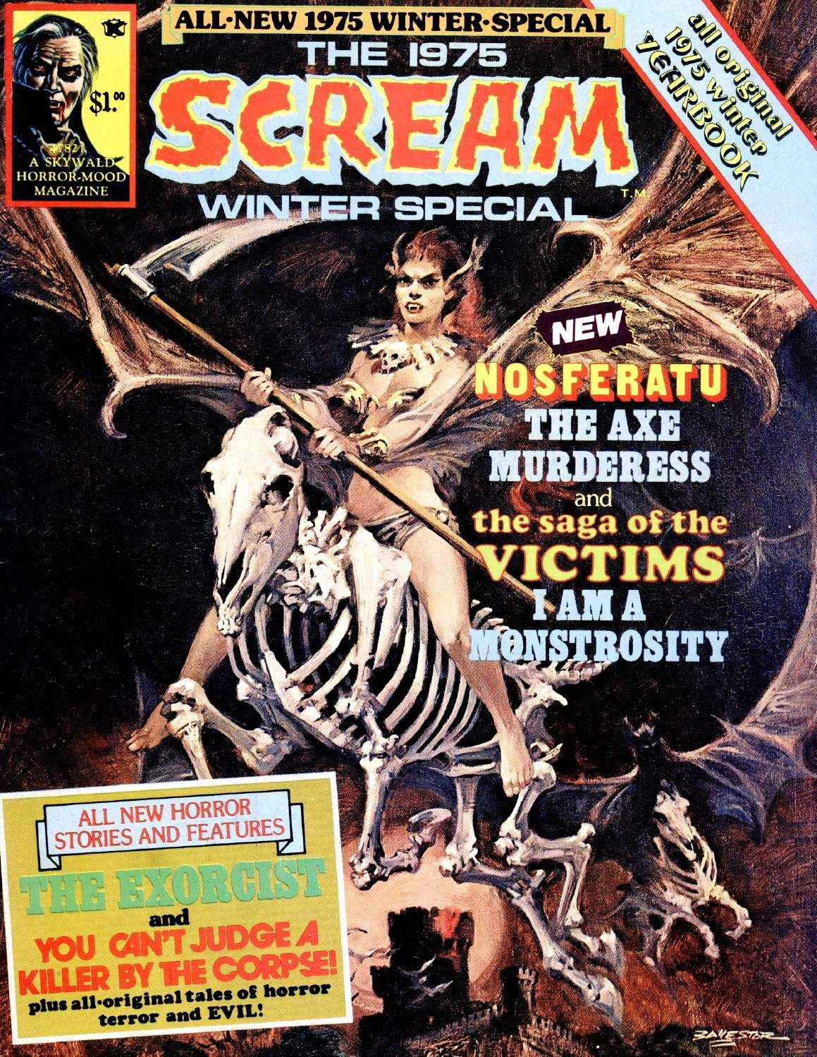 Scream Magazine, Winter Special, 1974
