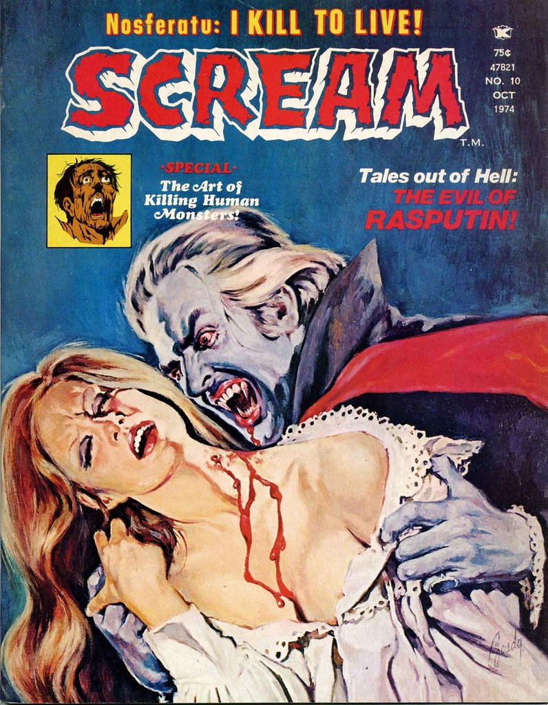 Scream Magazine, Issue 10, October 1974