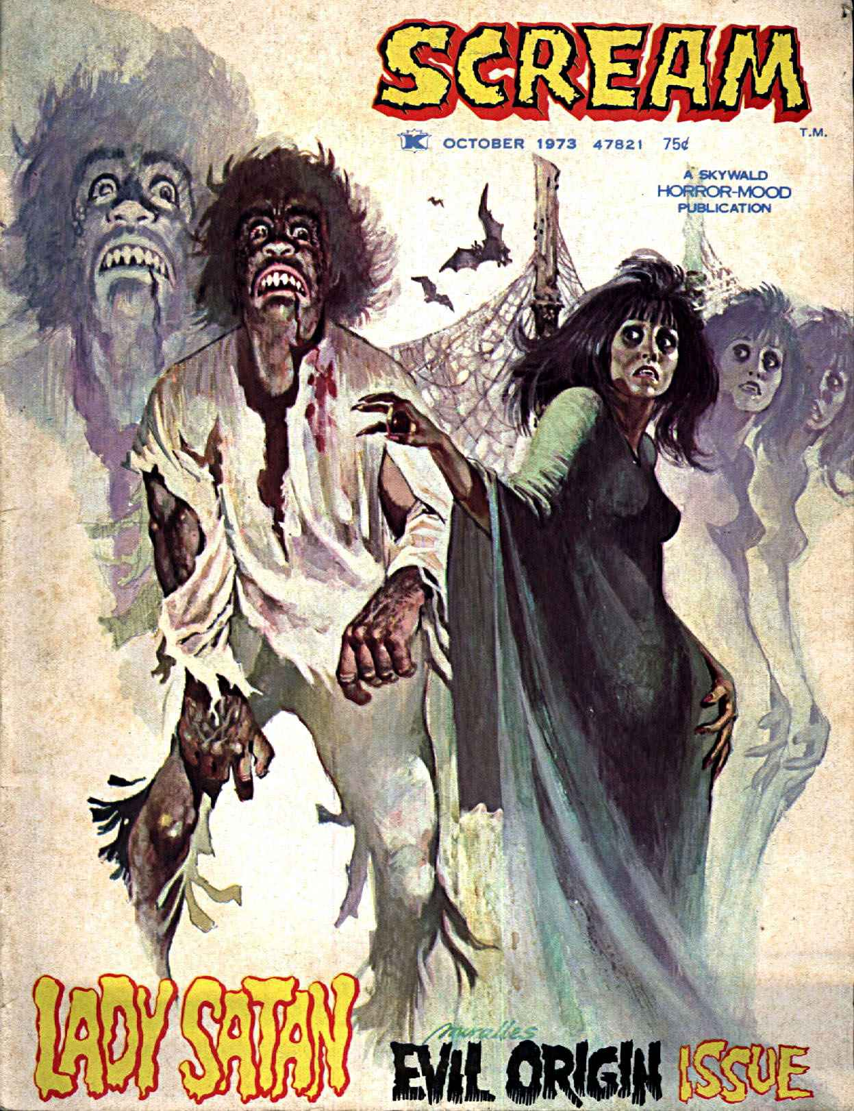 Scream Magazine, Issue 02, October 1973
