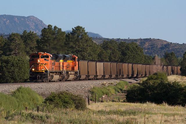 BNSF 9097 Colorado Springs 31 Jul 20