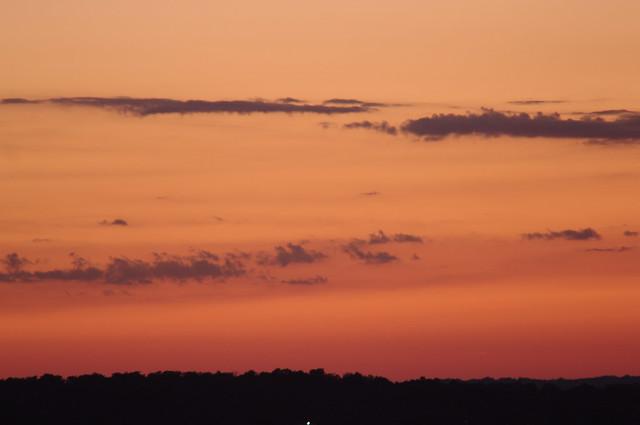 NEOWISE Sunset #5: Dark Clouds