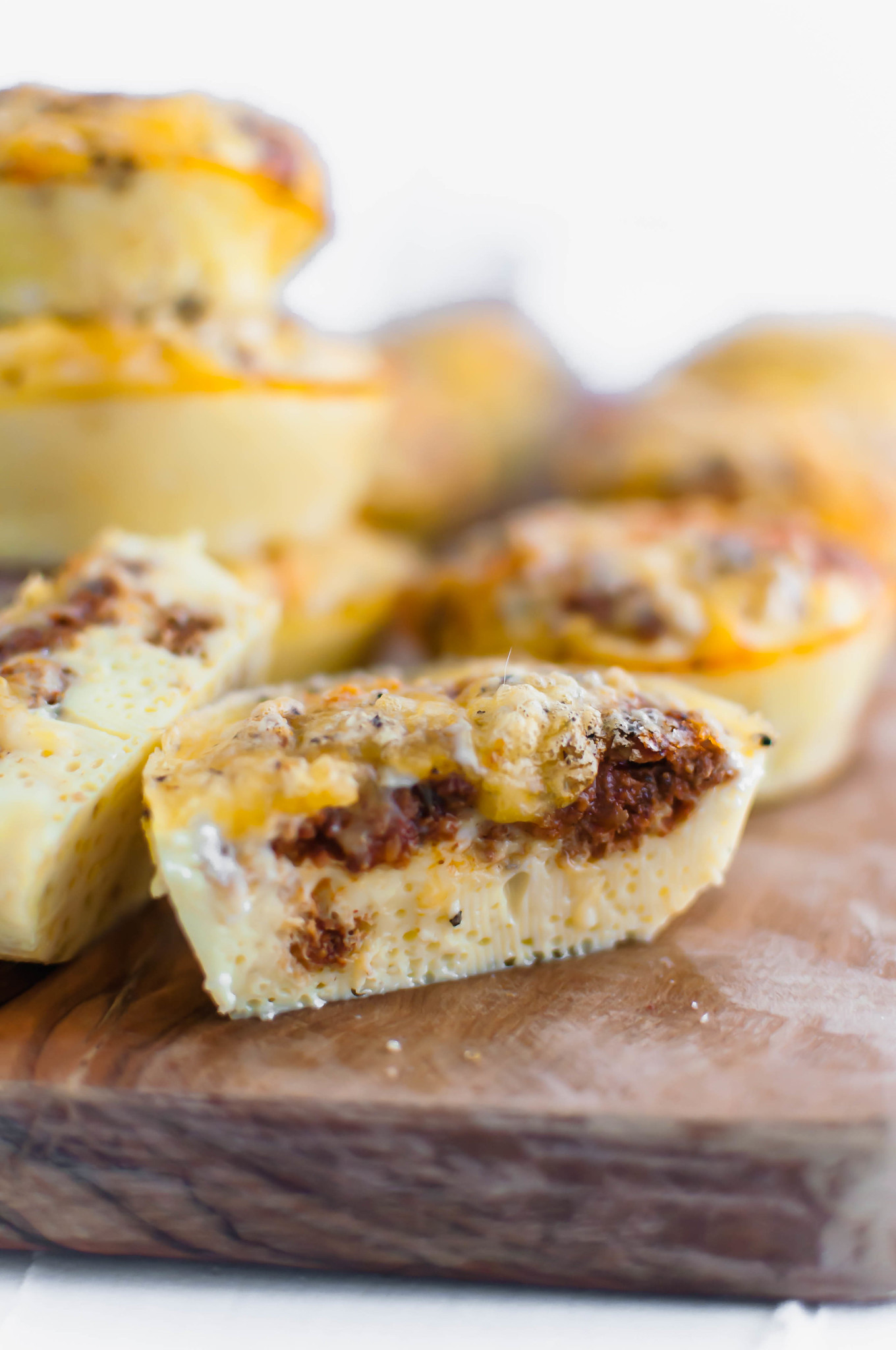 With back to school on the horizon, let's start gathering all the easy breakfast ideas. One of our favorites are these Egg Muffins with Chorizo and Cheddar Cheese. Great for making ahead and freezable too.