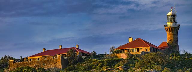 Barrenjoey Head Lighthouse panorama