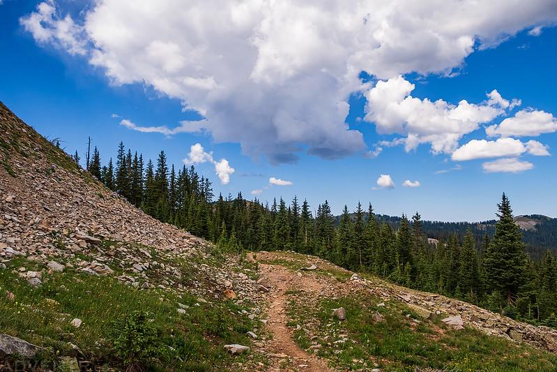 Colorado Trail Clouds