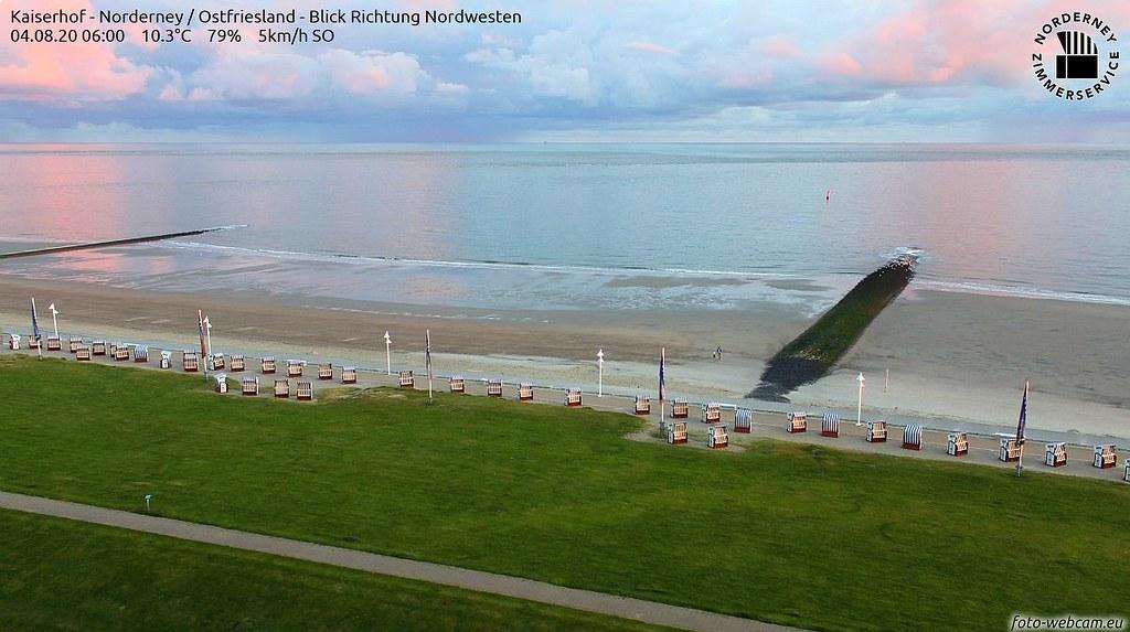 Morgenfarben Nordsee