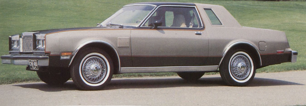 1980 Chrysler LeBaron LS Limited Coupe, August 1979 press photo