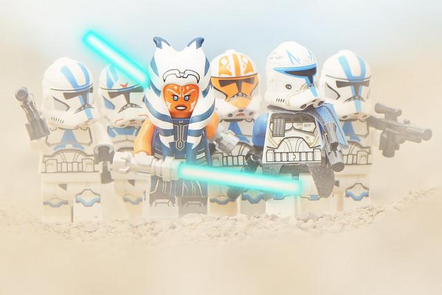 LEGO Ahsoka Tano & 501st