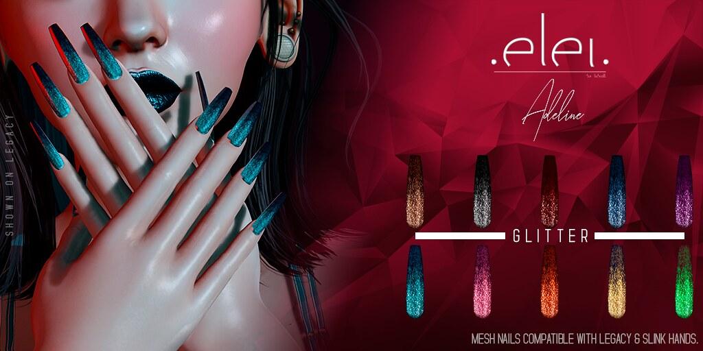 Adeline (Nails) – Glitter