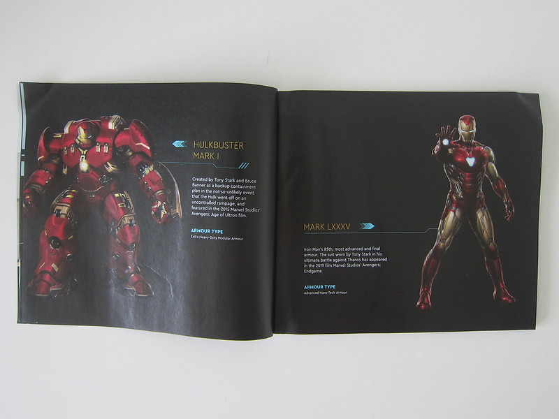 LEGO Art Marvel Studios Iron Man 31199 - Instructions - Iron Man HulkBuster Mark I And Iron Man Mark LXXXV