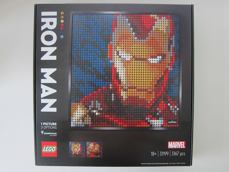 LEGO Art Marvel Studios Iron Man 31199 - Box Front
