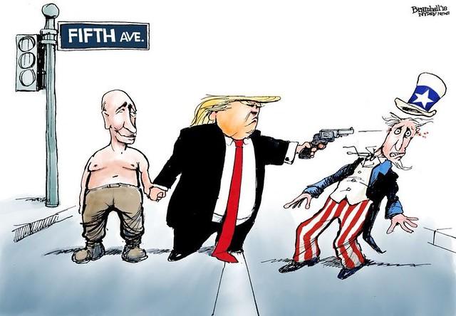 Donald Trump's loyalty.