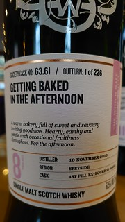 SMWS 63.61 - Getting baked in the afternoon