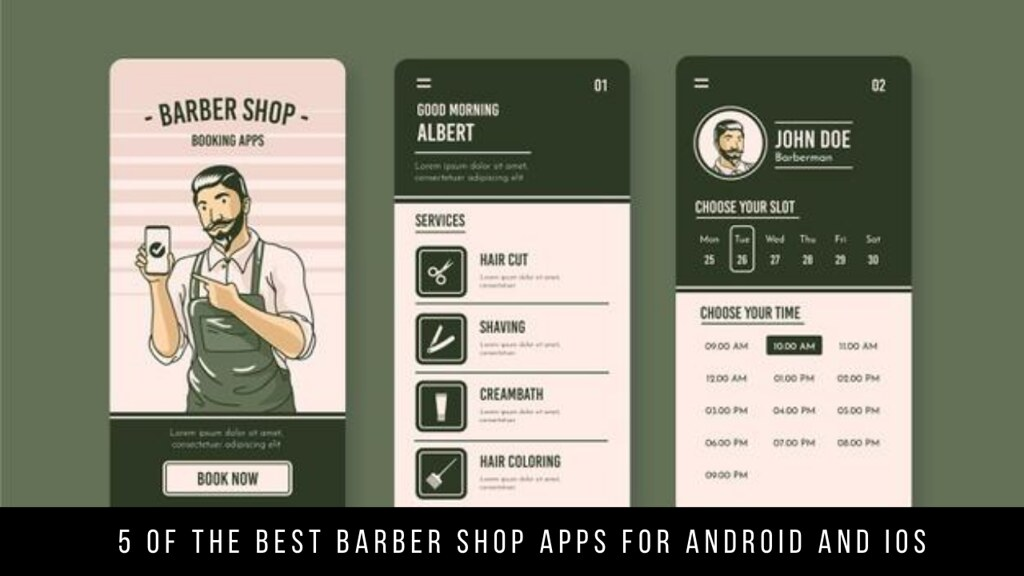 5 Of The Best Barber Shop Apps For Android And iOS