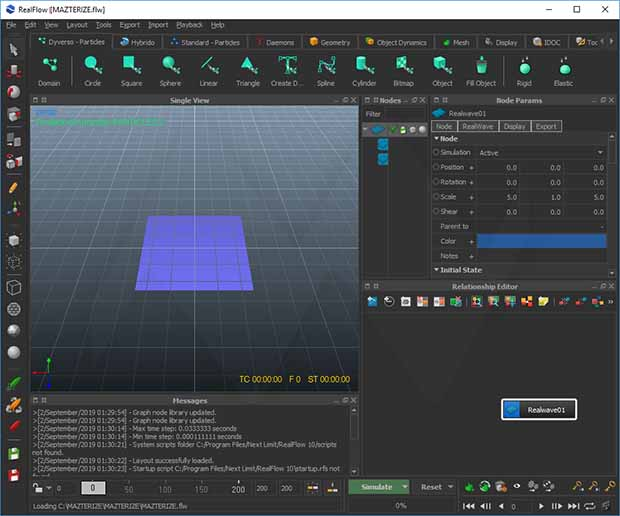 Working with NextLimit RealFlow 10.5.3.0189 full