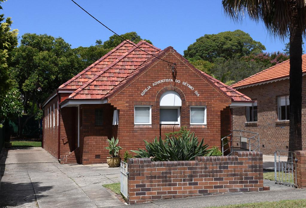 Sydney Portuguese Seventh-day Adventist Church, Ashfield, Sydney, NSW.