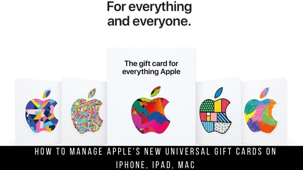 How to manage Apple's new universal Gift Cards on iPhone, iPad, Mac