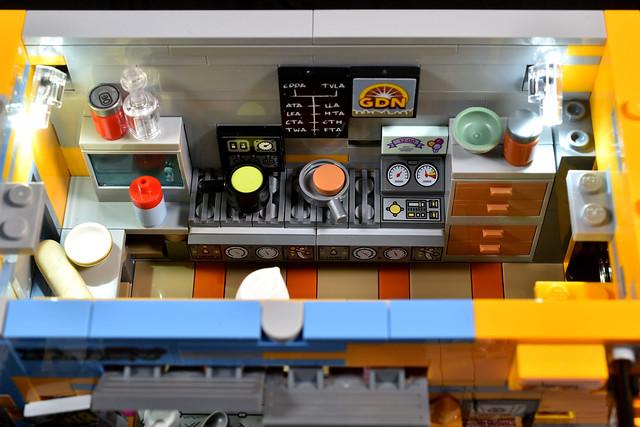 Cyberpunk Food Stall