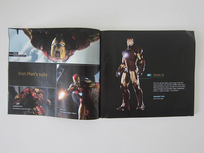 LEGO Art Marvel Studios Iron Man 31199 - Instructions - Iron Man Mark III