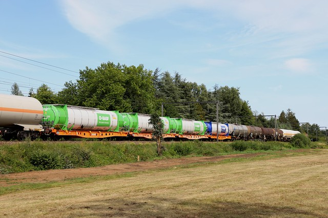 Basf vloeistof  containers - Zelem/Deurne - 23/07/2020.