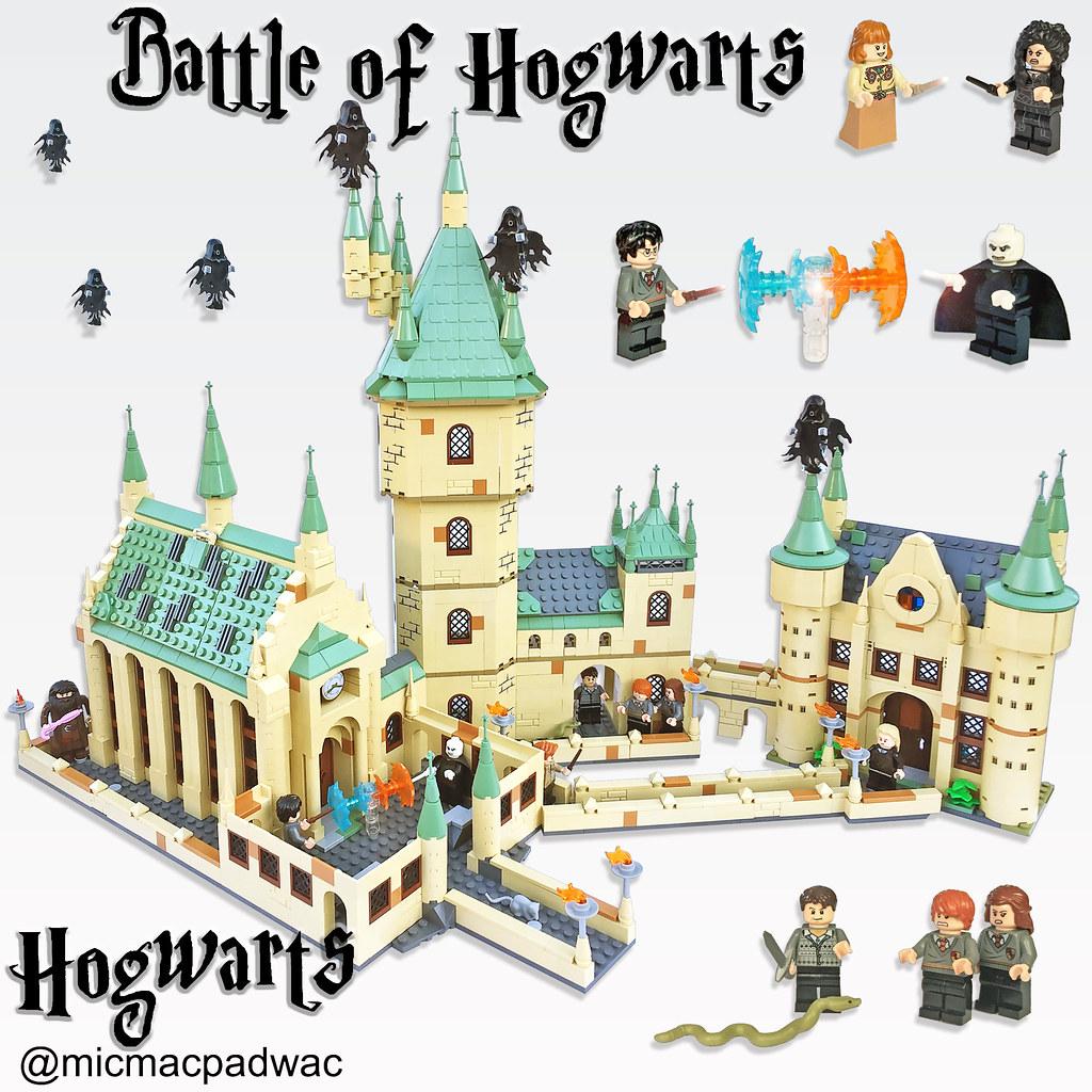 Lego Battle of Hogwarts