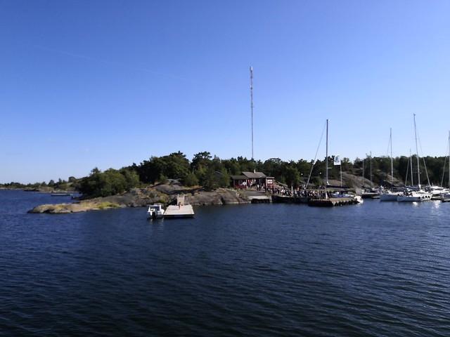 Örö's harbor
