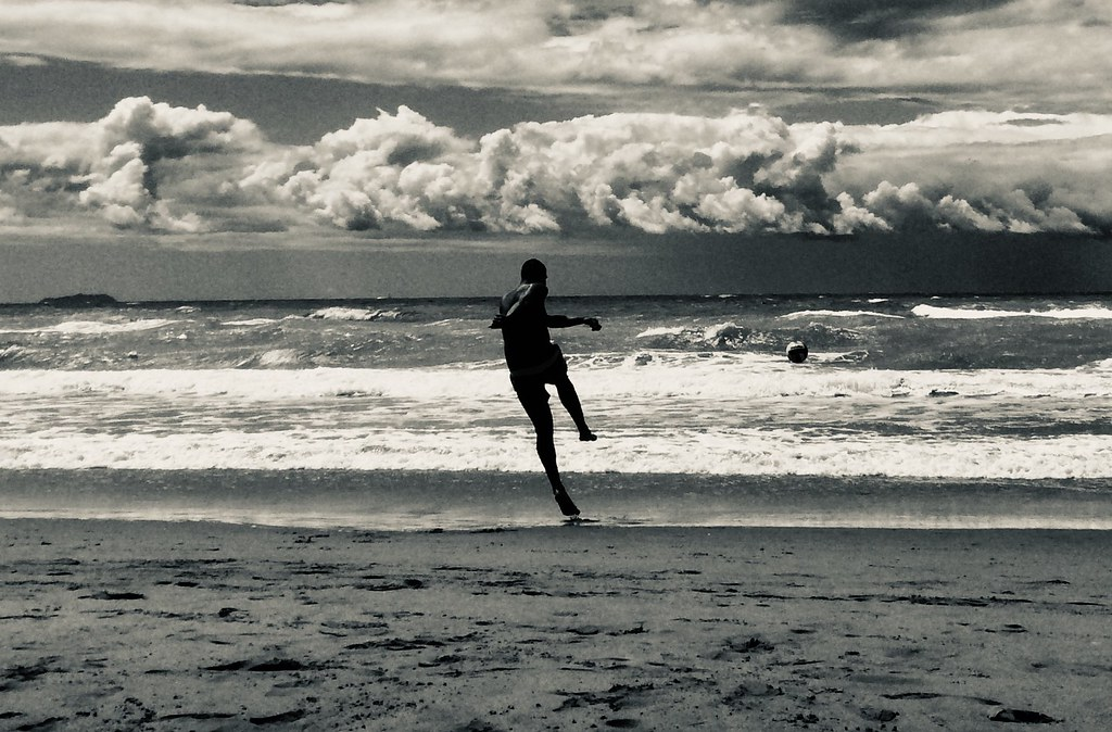 Player at the Sea