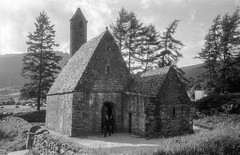 St. Kevin's Church, Glendalough, Co. Wicklow, Leinster, Ireland by Swedish National Heritage Board