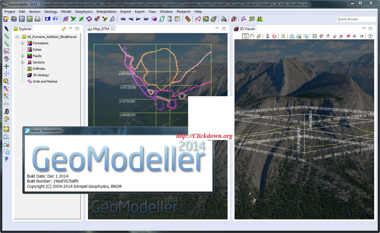 Working with Intrepid Geophysics GeoModeller 2014 full license