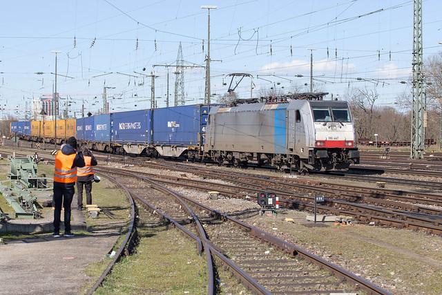 Railpool 186 447 Basel Badischer Bahnhof