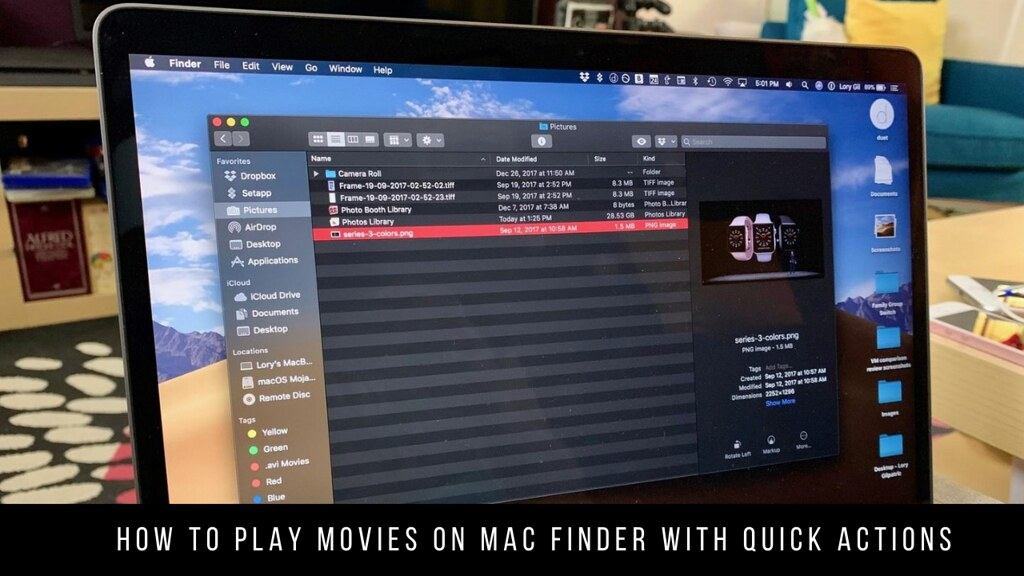 How to Play Movies on Mac Finder with Quick Actions