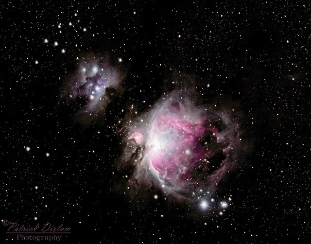 Orion and Running Man Nebulas revisited - Explore