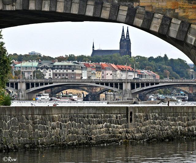 View on Vyšehrad