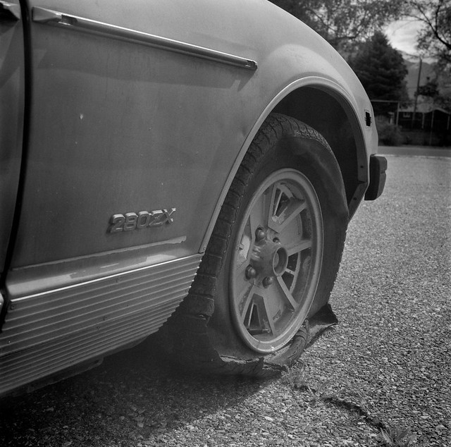 Abandoned Datsun 280ZX - Ogden, Utah.