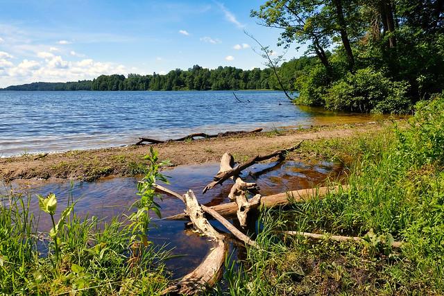 Mazurian lake