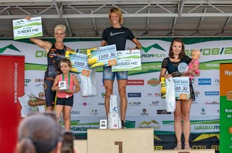 Milada Run vyhráli Churaňová a Vaš, na desítce startovali Kreisinger a Joglová
