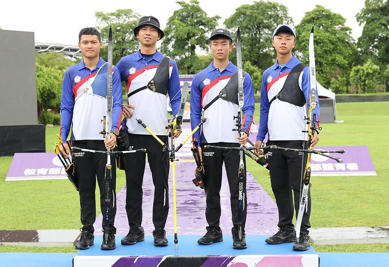 湯智鈞(左起)、魏均珩、鄧宇成、洪晨皓。(圖/國訓中心提供)
