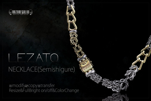 ROZOREGALIA_LEZATO*NECKLACE(Semishigure)_AD